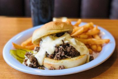 Philly Cheese Sloppy Joes